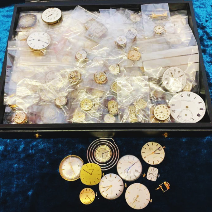 Mix of Swiss watch movements for sale